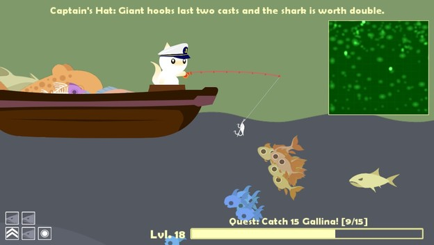 Get hooked on cat goes fishing cheat code central for Fish cat game