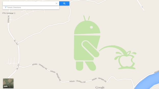 Google Maps is Being Vandalized