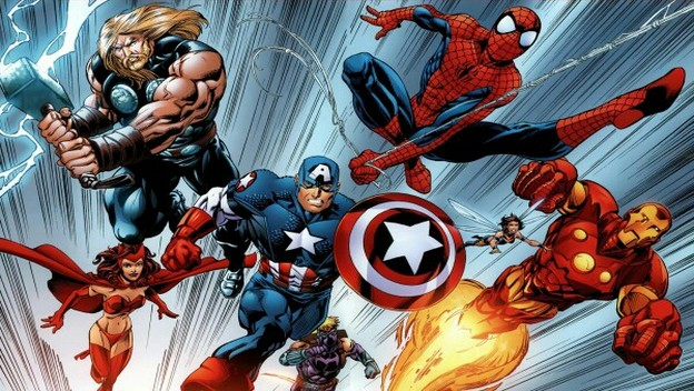 Spider-Man Catches The Avengers in His Web