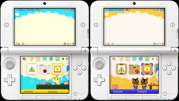 how to make custom themes on 3ds