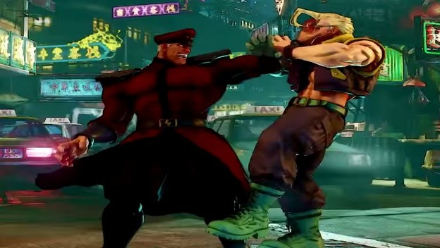 M. Bison Revealed For Street Fighter V