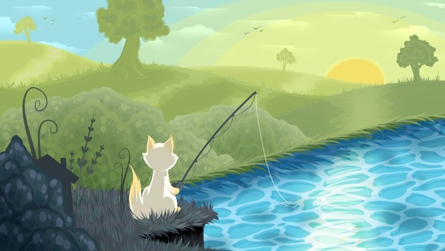 Get Hooked on Cat Goes Fishing