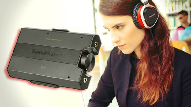 Creative's Sound Blaster E5 Is a PERFECT Match for Your Headset