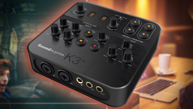 Why Live-Streamers NEED the Sound Blaster K3+ by Creative