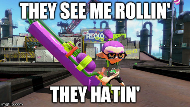 Don't Hate on Splatoon's Rollers