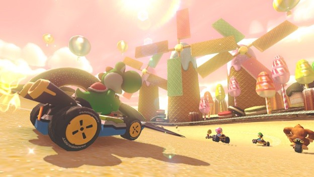 Flame War: Mario Kart 8 Looks Better Than Bloodborne. Deal With It!