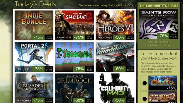 Steam Sales Get Less Exciting Every Year