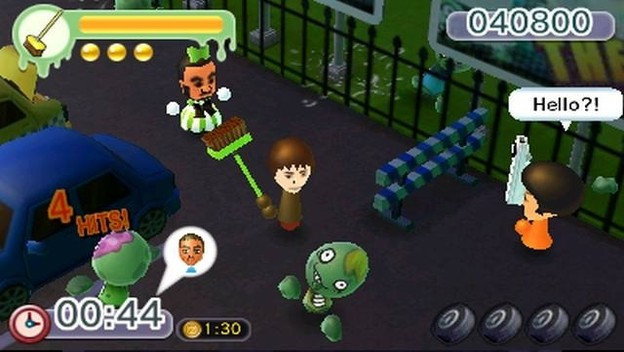 StreetPass Mii Plaza's Battleground Z is like a Mini Musou