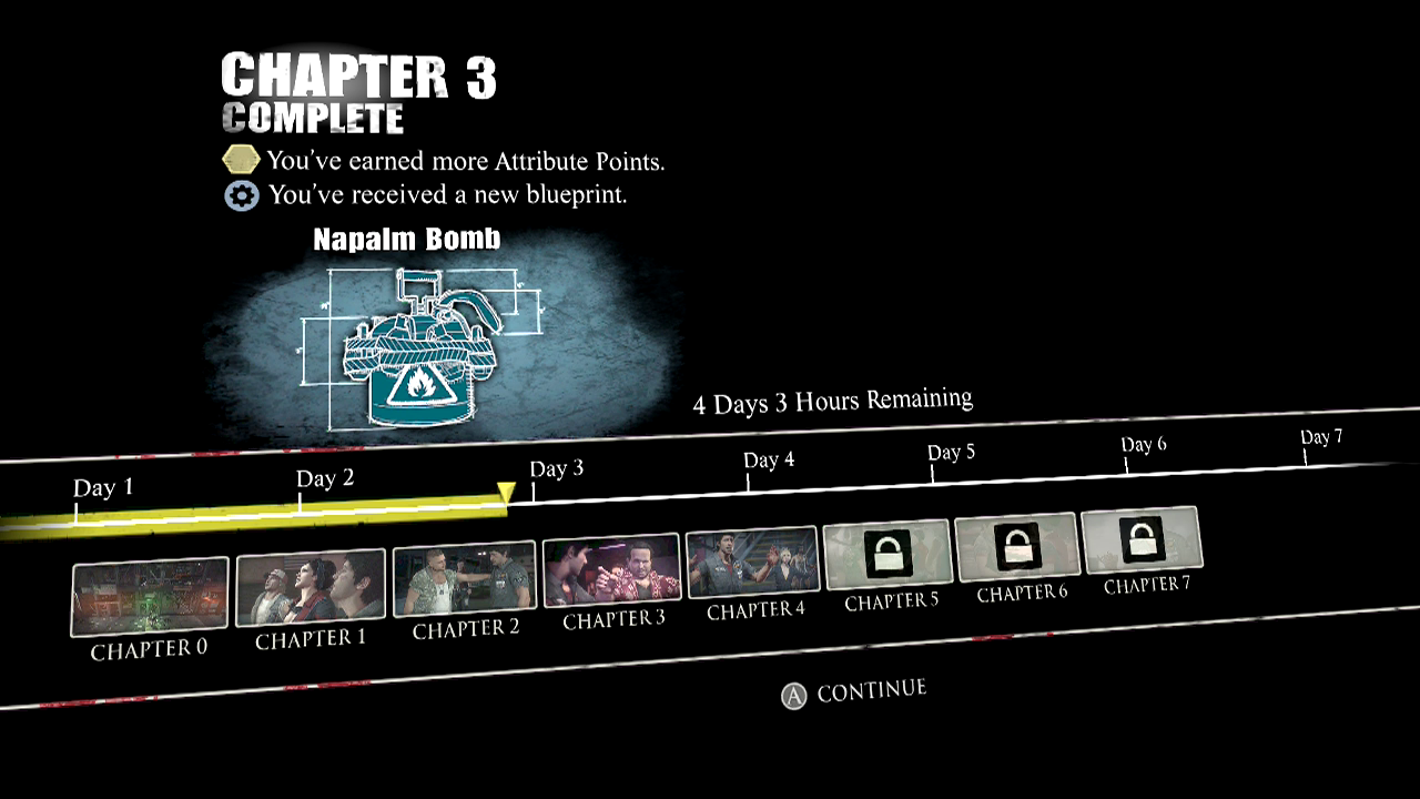 Ccc dead rising 3 guidewalkthrough chapter 3 them or us chapter reward attribute points schematic napalm bomb malvernweather Gallery
