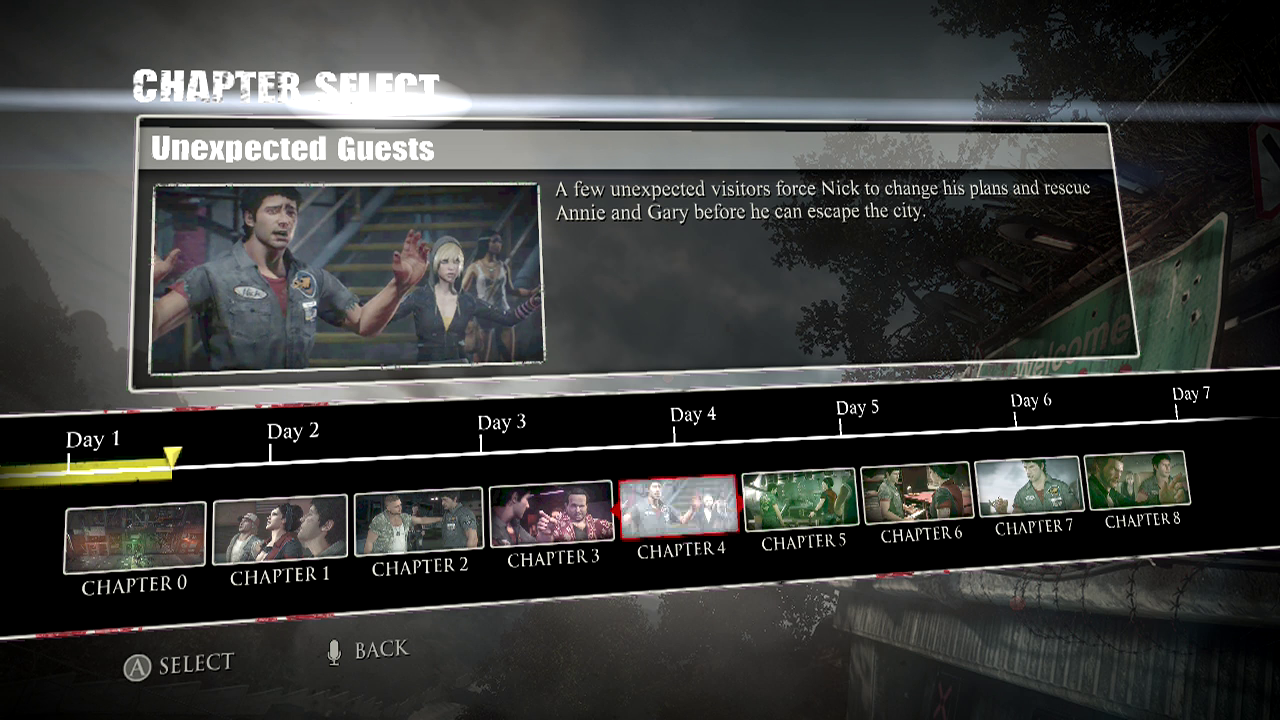 Ccc dead rising 3 guidewalkthrough chapter 4 unexpected guests malvernweather Gallery