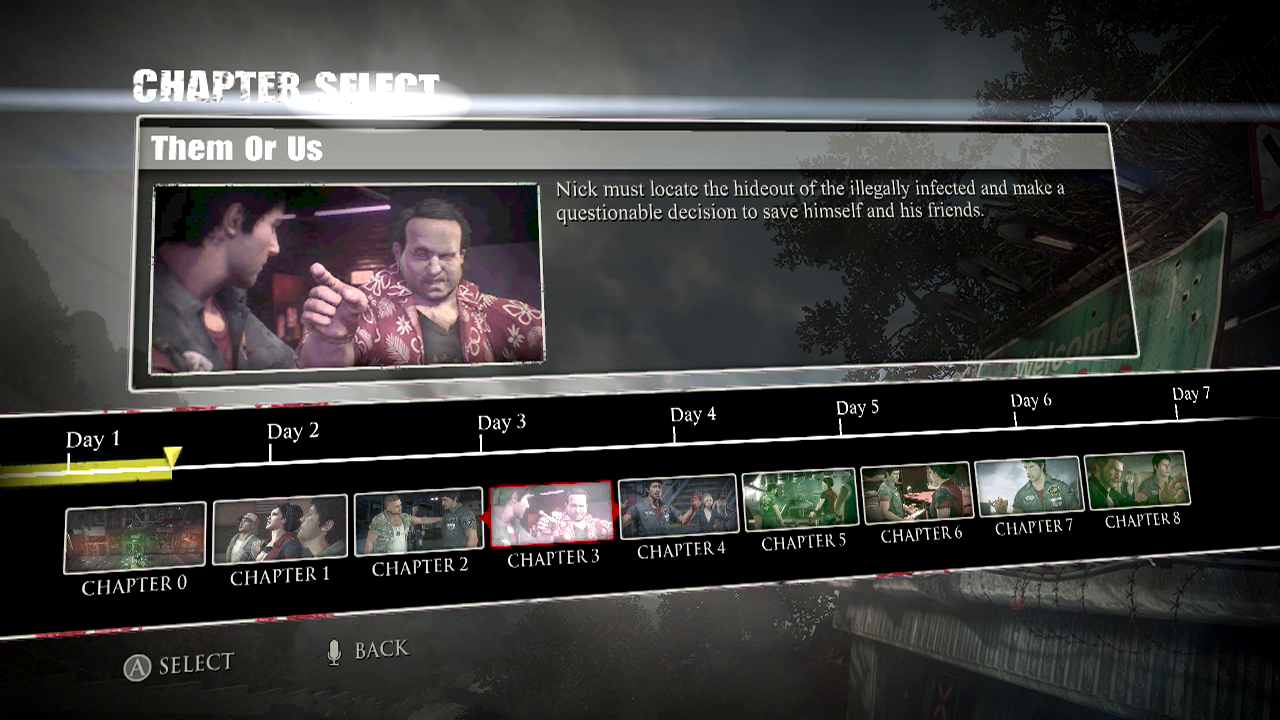 Ccc dead rising 3 guidewalkthrough chapter 3 them or us malvernweather Gallery
