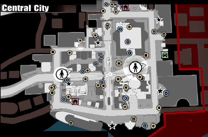 CCC: Dead Rising 3 Guide/Walkthrough - Central City Dead Rising Map With Store Names on dead rising 3 map guide, dead rising 3 map detail, dead rising 3 map ham, dead rising 3 map to in morgue, dead rising 3 map key, dead rising 3 world map, dead rising 3 map buildings, dead rising 3 full map with points, dead rising 3 map sunset hills, dead rising 3 item map, dead rising 3 blueprint locations map,
