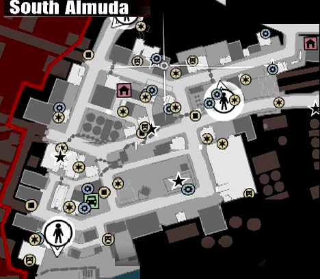 CCC: Dead Rising 3 Guide/Walkthrough - South Almuda Dead Rising Map Locations on