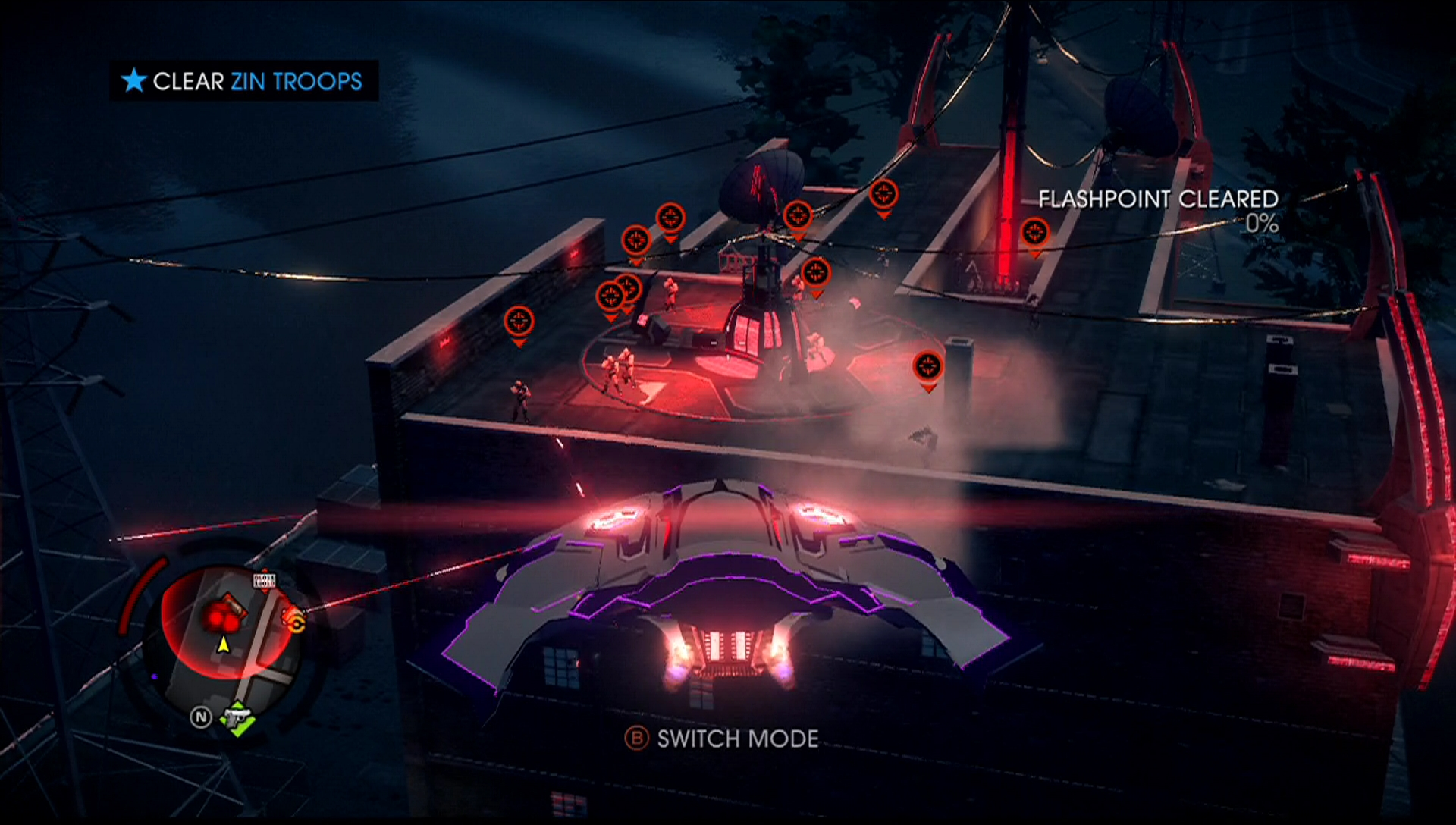 how to get to the ship in saints row 4