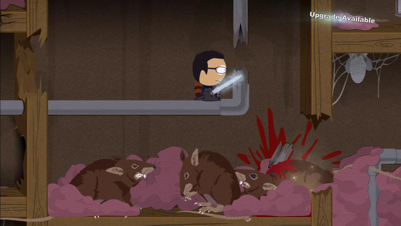 south park stick of truth how to you kill gore