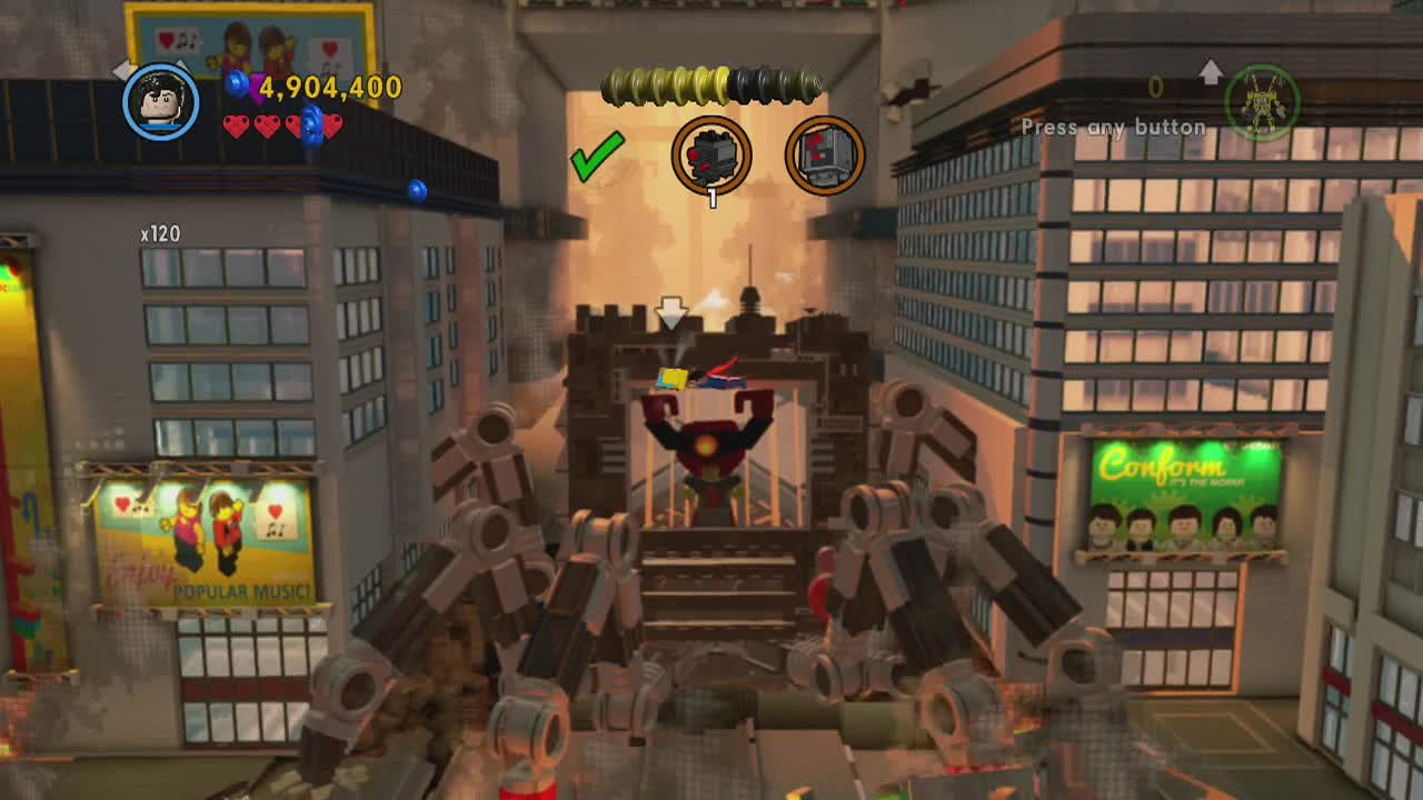 CCC: The Lego Movie Videogame Guide/Walkthrough - Level 15