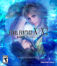 Final Fantasy X|X-2 HD Remaster Box Art