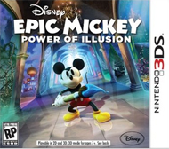 Disney Epic Mickey: Power of Illusion Box Art