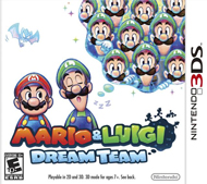 Mario & Luigi: Dream Team Box Art