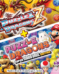 Puzzle & Dragons Z + Super Mario Edition Box Art