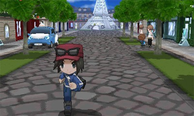 Pokémon X and Y Screenshot