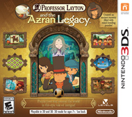 Professor Layton and the Azran Legacy Box Art