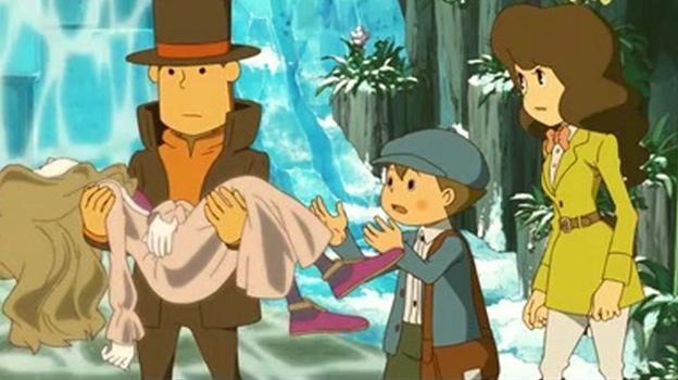 Professor Layton and the Azran Legacy Screenshot