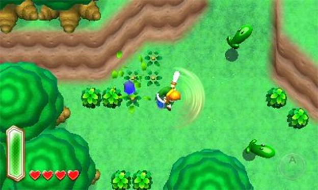 The Legend of Zelda: A Link to the Past 3DS Screenshot