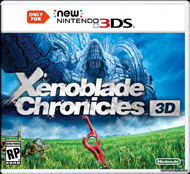 Xenoblade Chronicles 3D Box Art