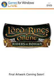 Lord of the Rings Online: Riders of Rohan Box Art