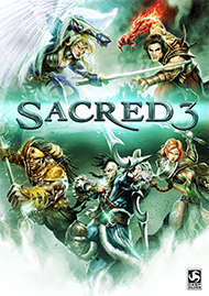Sacred 3 Box Art