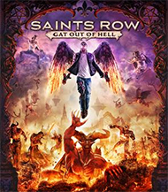 Saints Row: Gat Out of Hell Box Art
