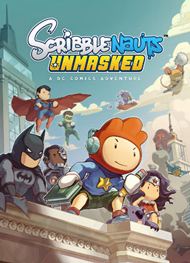 Scribblenauts Unmasked: A DC Comics Adventure Box Art