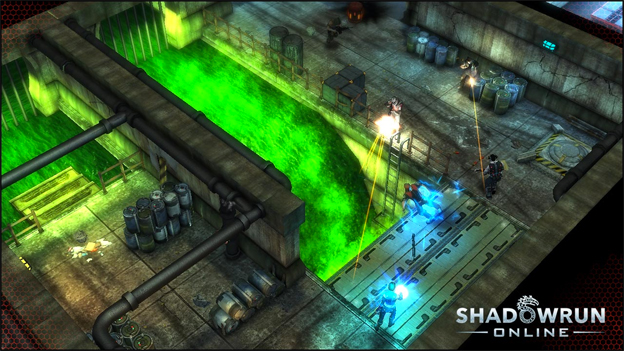 Shadowrun Online Screenshot