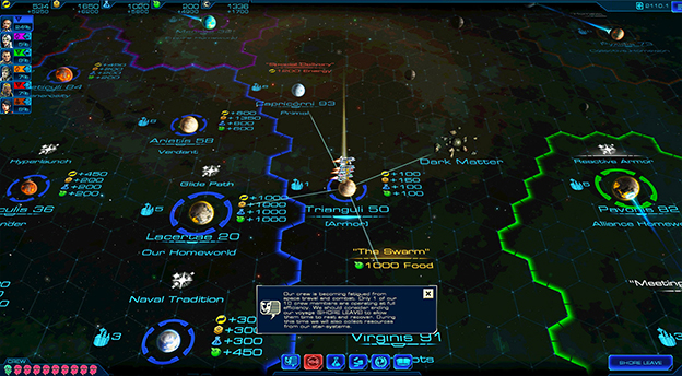 Sid Meier's Starships Screenshot
