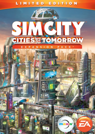SimCity: Cities of Tomorrow Box Art