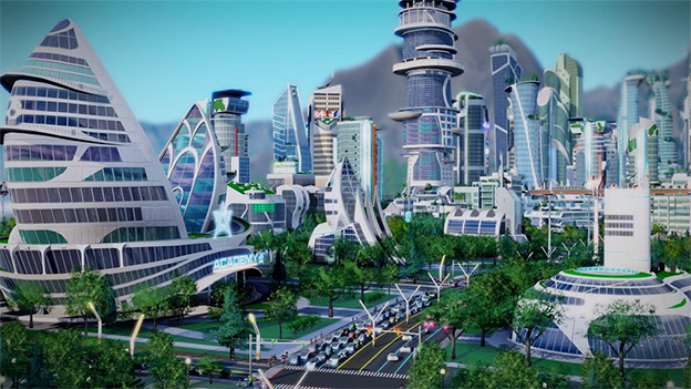 SimCity: Cities of Tomorrow Screenshot