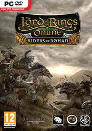 The Lord of the Rings Online: Riders of Rohan Box Art