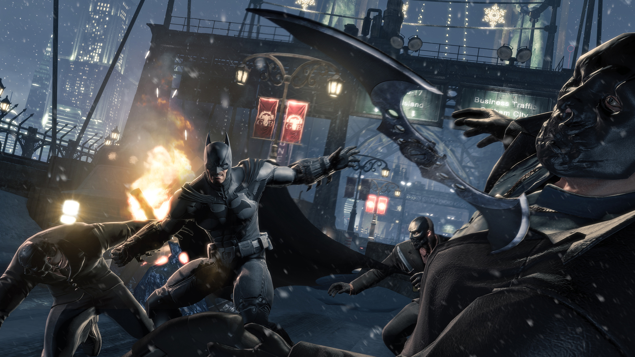 Batman: Arkham Origins image