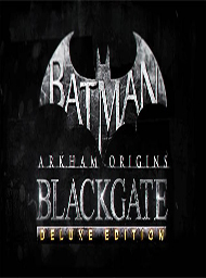 Batman: Arkham Origins Blackgate Deluxe Edition Box Art