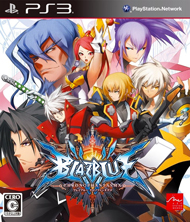 BlazBlue: Chronophantasma Box Art