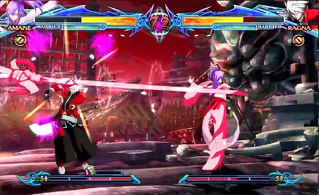 BlazBlue: Chrono Phantasma Screenshot