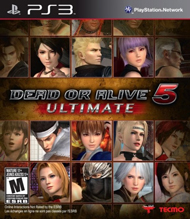 Dead or Alive 5: Ultimate Box Art