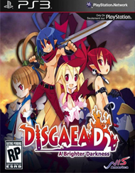 Disgaea D2: A Brighter Darkness Box Art