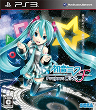 Hatsune Miku: Project Diva F Box Art