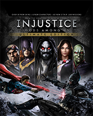 Injustice: Gods Among Us Ultimate Edition Box Art