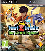 Invizimals: The Lost Kingdom Box Art