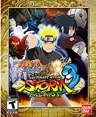 Naruto Shippuden: Ultimate Ninja Storm 3 Full Burst Box Art