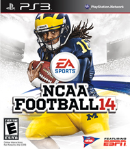 NCAA Football 14 Box Art