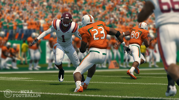NCAA Football 14 Screenshot